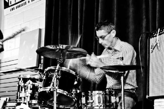 Bob Weber, drummer for Houston punk bands Really Red and Anarchitex.