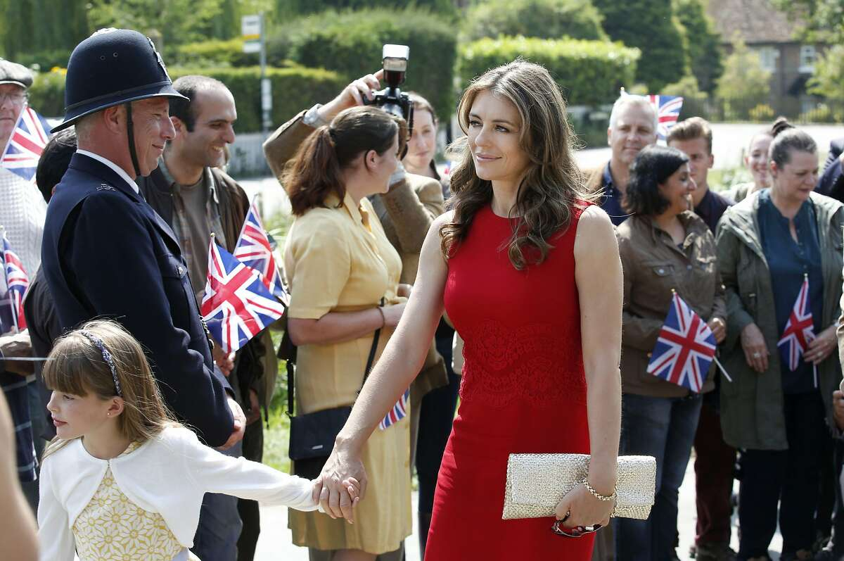 THE ROYALS -- Episode 104 -- Pictured: Elizabeth Hurley as Queen Helena -- (Photo by: Tim Whitby/E!)