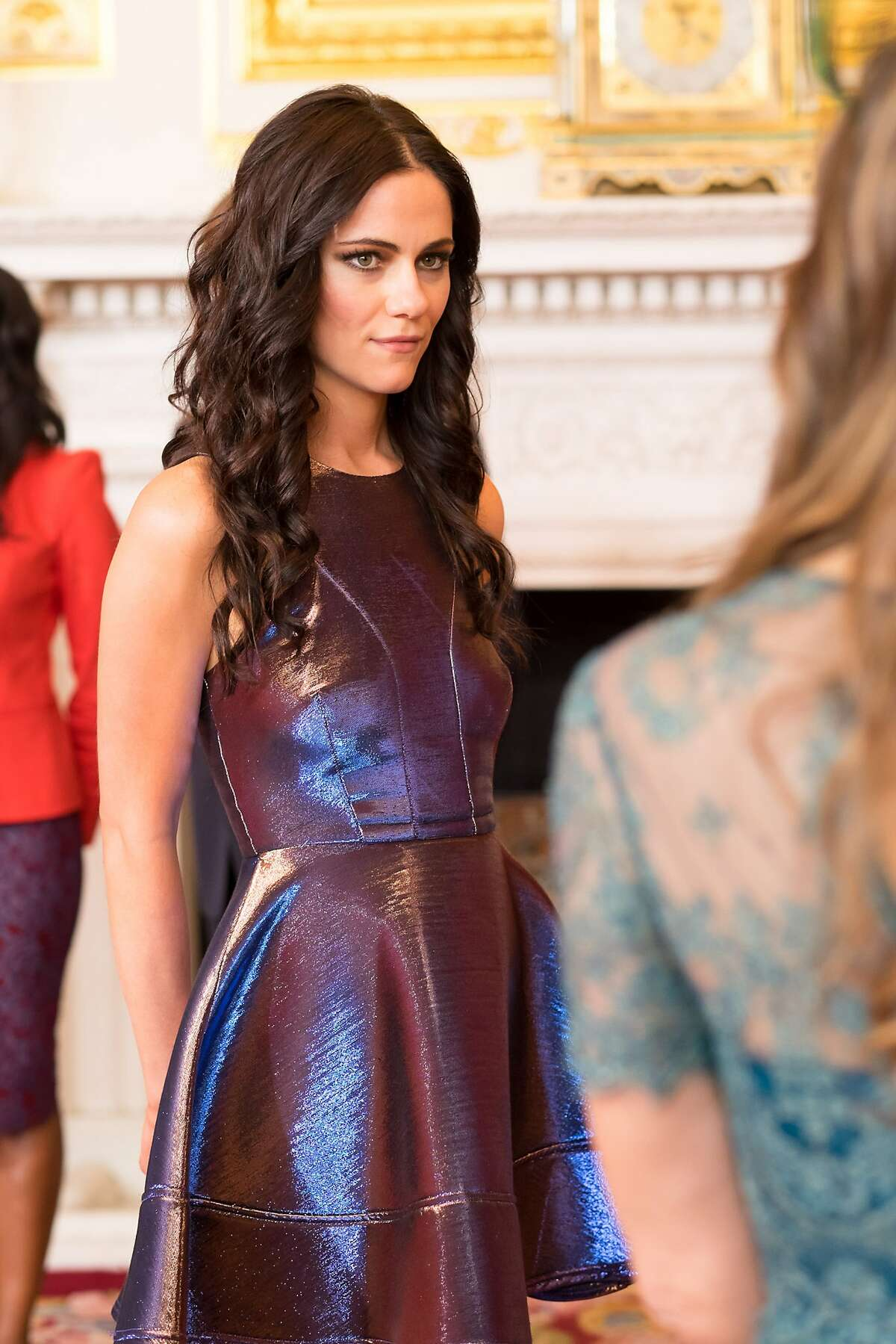 THE ROYALS -- Episode 102 -- Pictured: Alexandra Park as Princess Eleanor -- (Photo by: Jim Marks/E!)