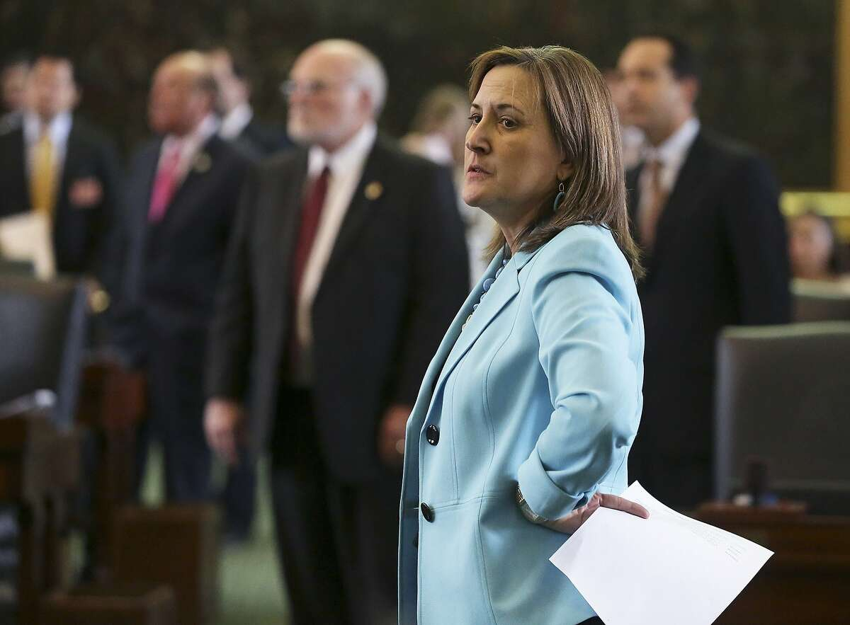 Senator Konni Burton is pictured March 11, 2015. >>Keep going to see other bills you need to know about before the Texas legislature convenes in Austin.