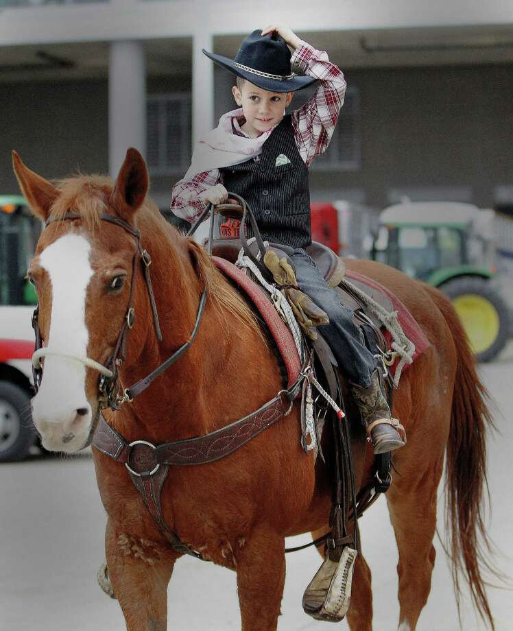 During the Houston Livestock Show and Rodeo at NRG Stadium, Wednesday, March 11, 2015, in Houston. Photo: Karen Warren, Houston Chronicle / © 2015 Houston Chronicle