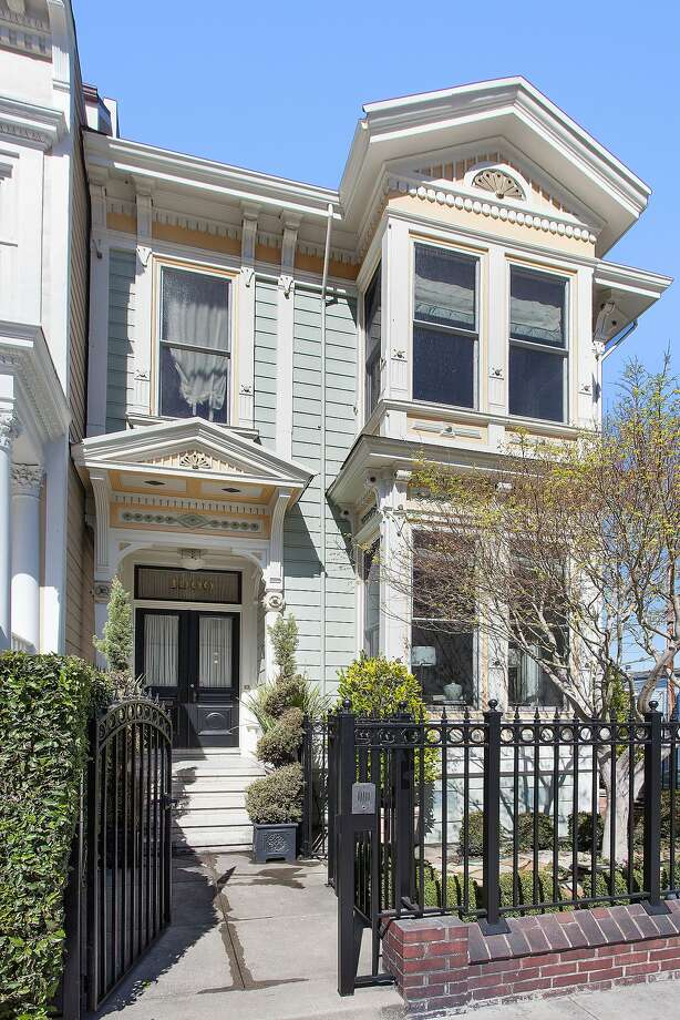 1900 Green St. is a tri-level Victorian built in 1886. Click here to see the latest San Francisco listings. Photo: Open Homes Photography