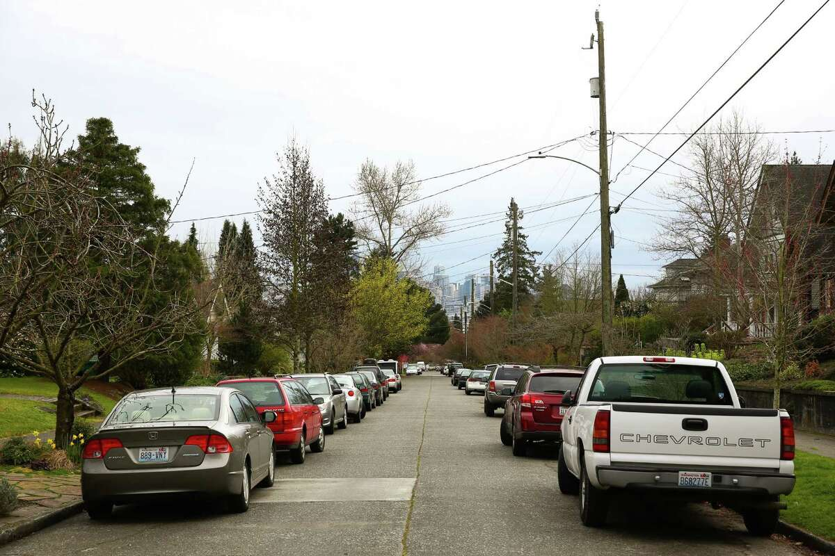 King County prosecutors claim 24-year-old Biftu Dadi was fatally stabbed by Attilla Richards in the 3900 block of Burke Avenue North, pictured above. Richards, 29, is alleged to have stabbed Dadi to death in the back of a Jeep Cherokee while parked on the street. He has been charged with second-degree murder.