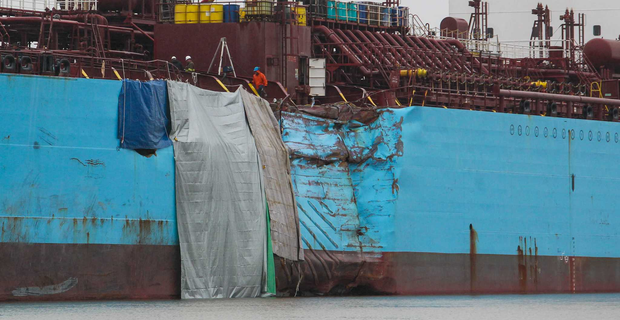Ship Channel Could Reopen Thursday After Accident Spill