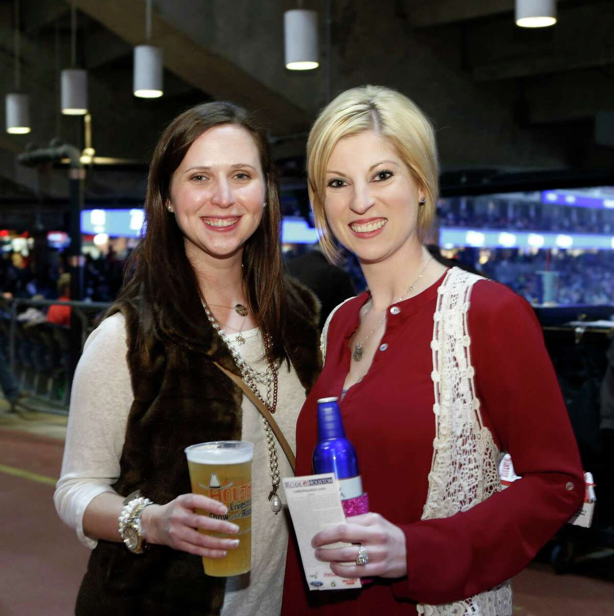 Fans at Brantley Gilbert's RodeoHouston concert on March 11.