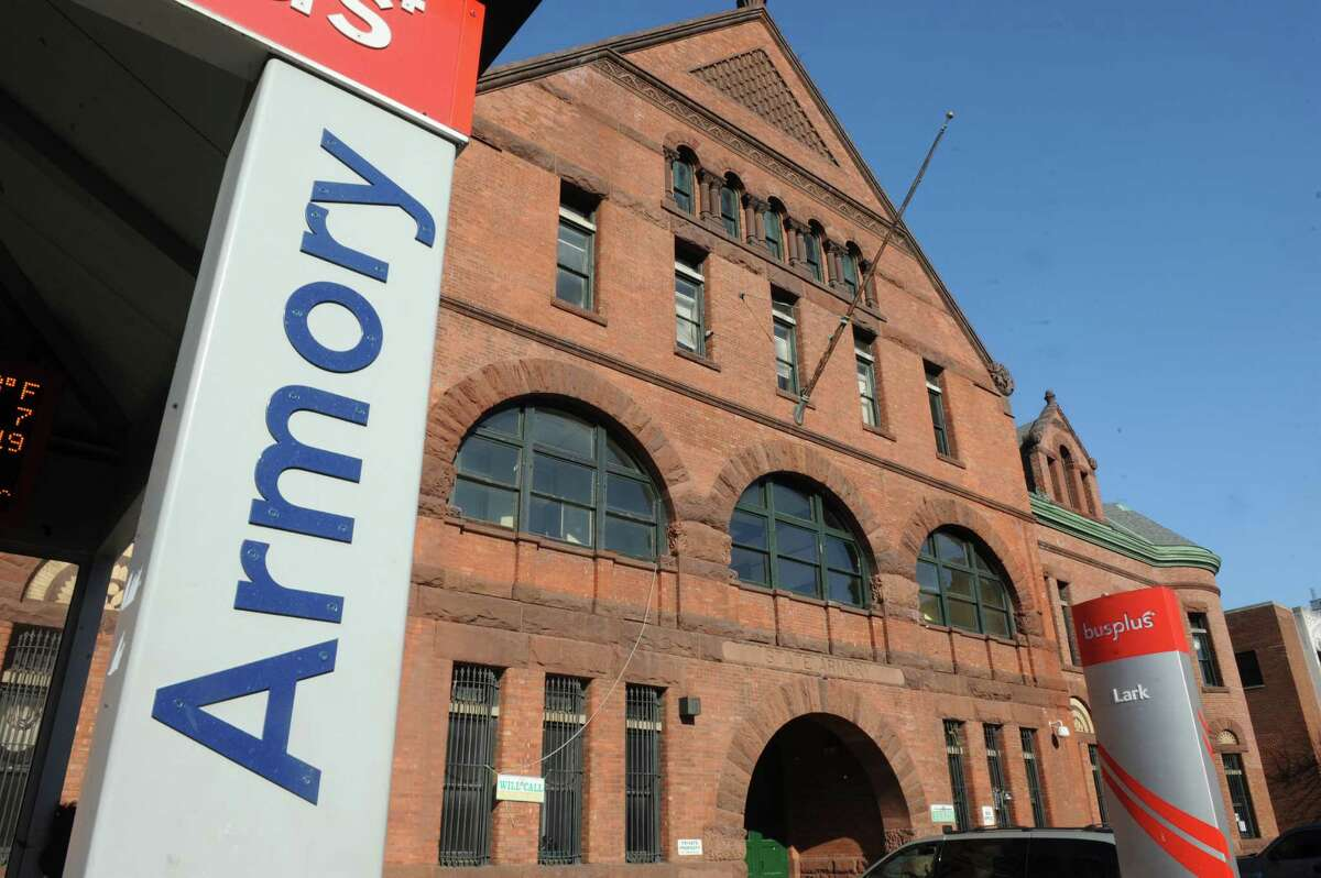 Exterior of the Washington Avenue Armory on Wednesday, March 11, 2015, in Albany, N.Y. (Michael P. Farrell/Times Union)