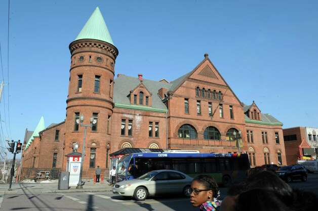 Exterior of the Washington Avenue Armory on Wednesday, March 11, 2015, in Albany, N.Y.  (Michael P. Farrell/Times Union) Photo: Michael P. Farrell