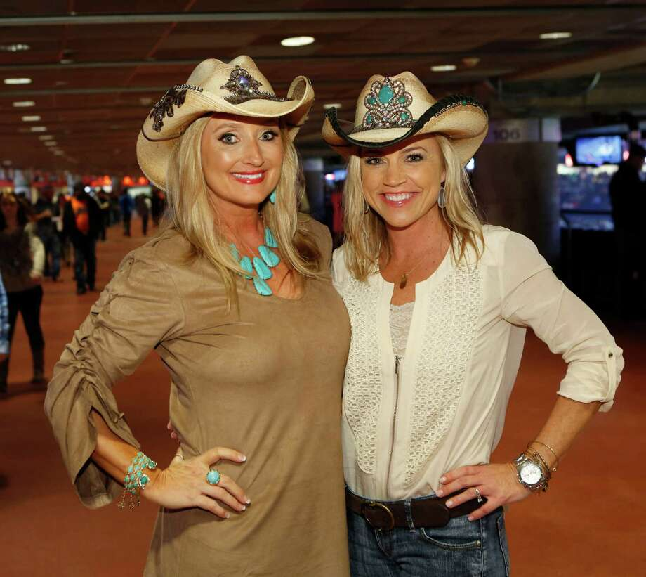 Guests pose for a photo before the Brantley Gilbert concert  at the Houston Livestock Show and Rodeo Wednesday, March 11, 2015, in Houston. Photo: Jon Shapley, Houston Chronicle / © 2015 Houston Chronicle
