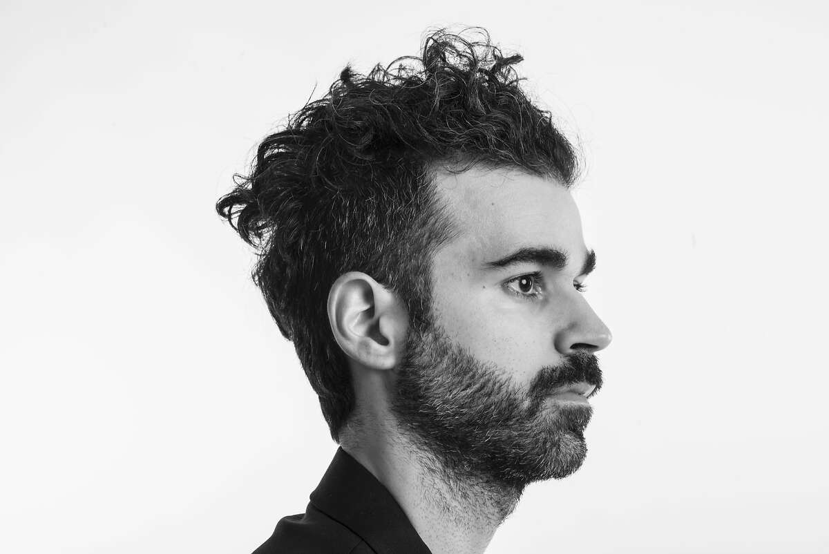 Geographer, the musical project of Michael Deni, releases 'Ghost Modern' on March 24. San Francisco, CA- December 3, 2014 Mike Deni of Geographer Portrait session for new album. Photo Credit: Victoria Smith / RETNA LTD