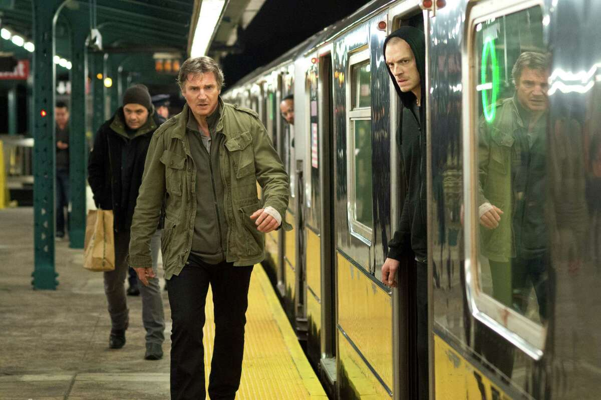 """(L-r) LIAM NEESON as Jimmy Conlon and JOEL KINNAMAN as Mike Conlon in Warner Bros. Pictures' action thriller """"RUN ALL NIGHT."""""""