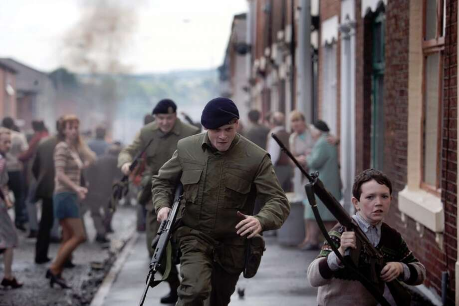 "Jack O'Connell stars as Gery Hook, a British soldier abandoned in Northern Ireland, in ""'71."" Photo: Roadside Attractions / ONLINE_YES"
