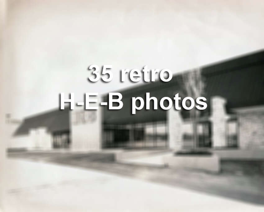 This is what H-E-B looked like back in the 1970s, 80s and 90s, back before they dominated the Texas grocery landscape.