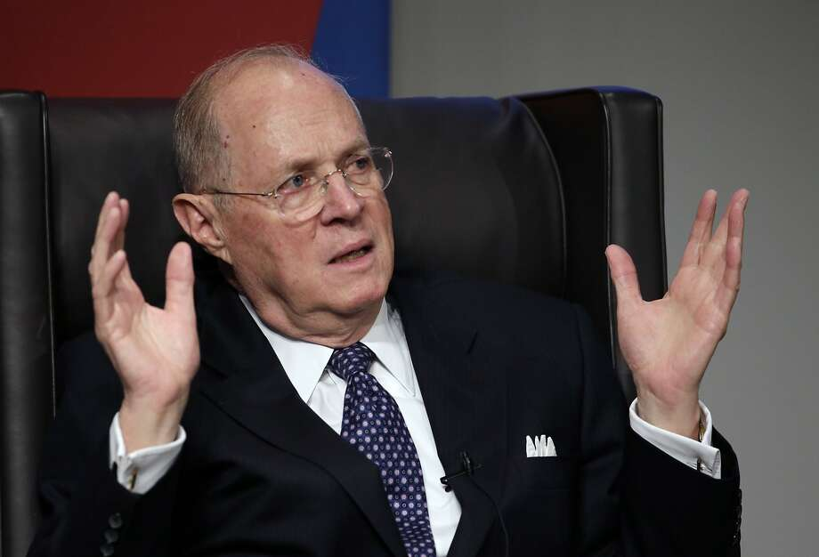 Supreme Court Justice Anthony Kennedy, who often is a swing vote on a divided court, has made a key point about the Affordable Care Act. Photo: Matt Slocum, Associated Press