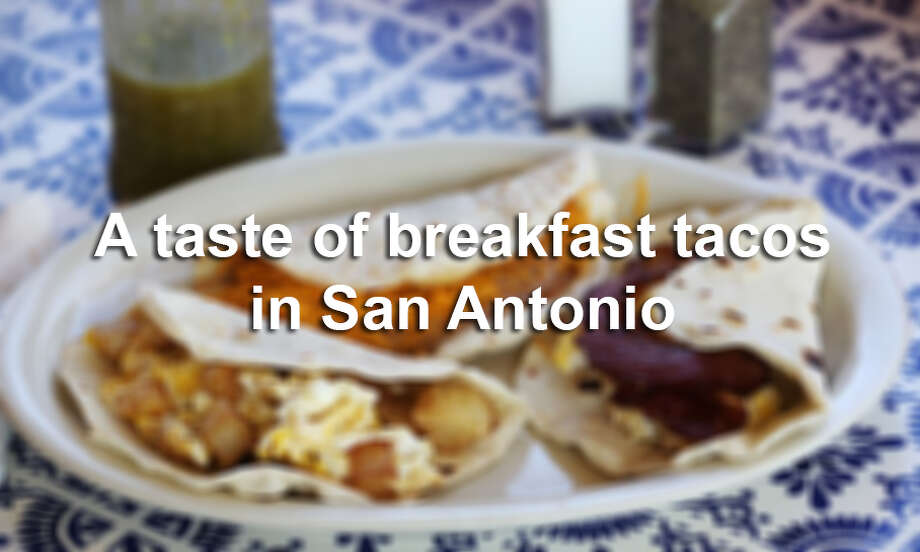 Click through to see breakfast taco spots previously featured by the Express-News Taste team.