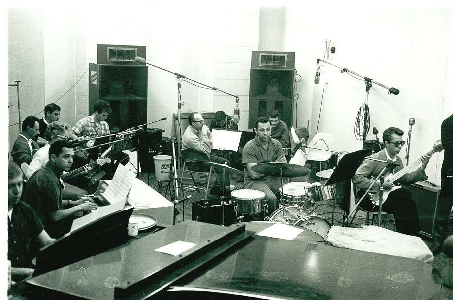 "Ace studio musicians at work, as seen in ""The Wrecking Crew"" documentary. Photo: Magnolia Pictures"