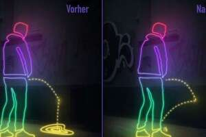 S.F.'s new urine-resistant walls seem to be keeping things dry - Photo