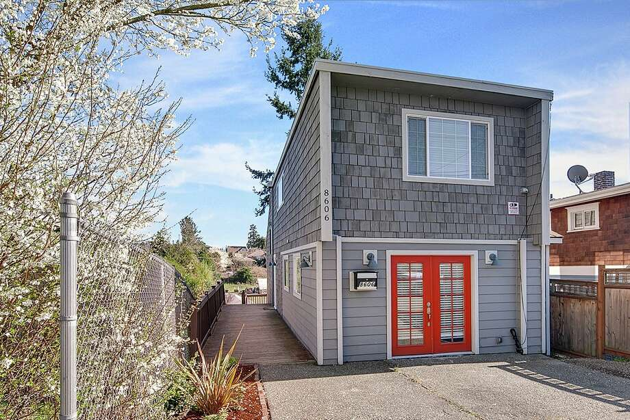 The first home is located at 8606 55th Ave. S. This three bedroom, one-and-three-quarters bathroom home is listed for $468,000.   There will be an open house on Saturday, March 14 and Sunday March 15 from 1-4 p.m. See the full listing here. Photo: Andrew O'Neil (Clarity Northwest)