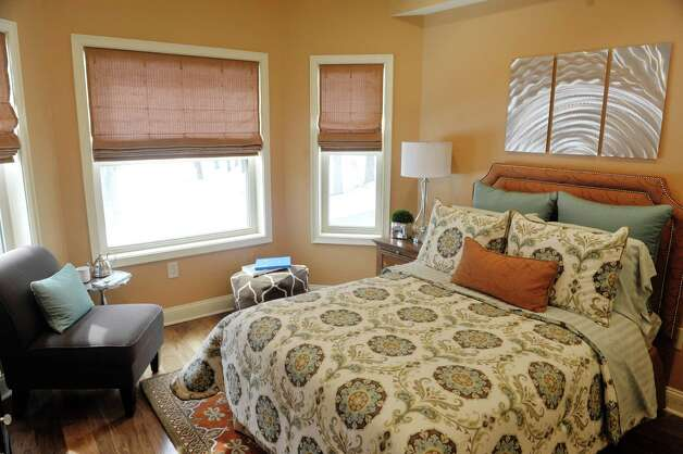 A view of the second bedroom inside a two-bedroom, two-bath unit at the Mill Hollow condominiums on Tuesday, March 10, 2015, in Guilderland, N.Y.  (Paul Buckowski / Times Union) Photo: PAUL BUCKOWSKI / 00030927A