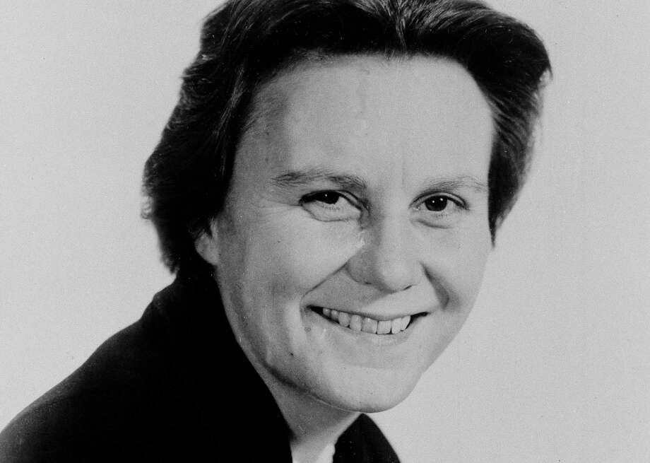 "FILE - This March 14, 1963 file photo shows Harper Lee, author of the Pulitzer Prize-winning novel, ""To kill a Mockingbird.""  The head of a group for Alabama writers says the new book by Harper Lee will help other state authors. Alabama Writer's Forum executive director Jeanie Thompson says the attention being given to Lee's long-awaited second novel reflects on other writers in the state.  (AP Photo, File) Photo: STF / AP"