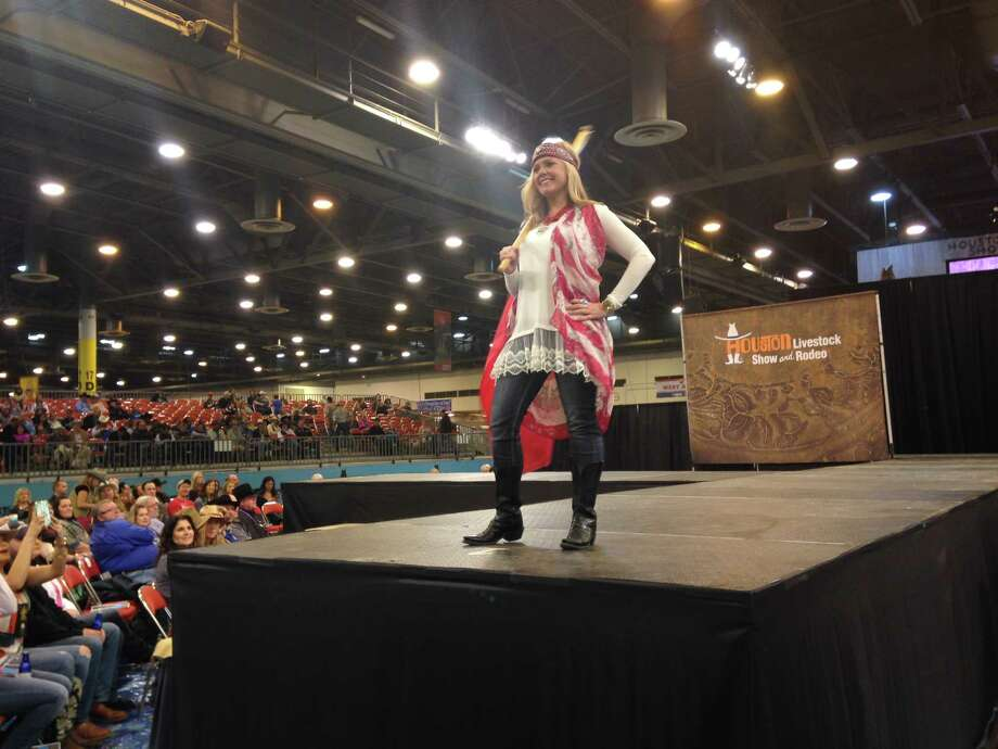Western wear, couture flaunted at rodeo fashion show ...