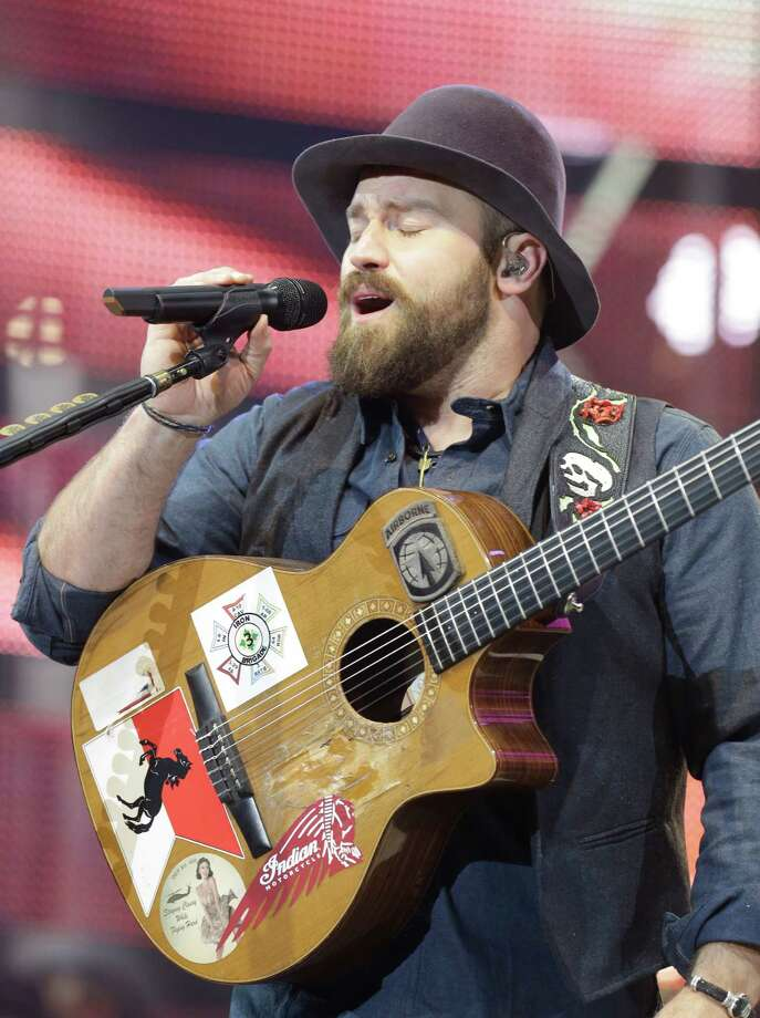 The Zac Brown Band performs at RodeoHouston on March 12, 2015. Photo: Melissa Phillip, Houston Chronicle / © 2014  Houston Chronicle