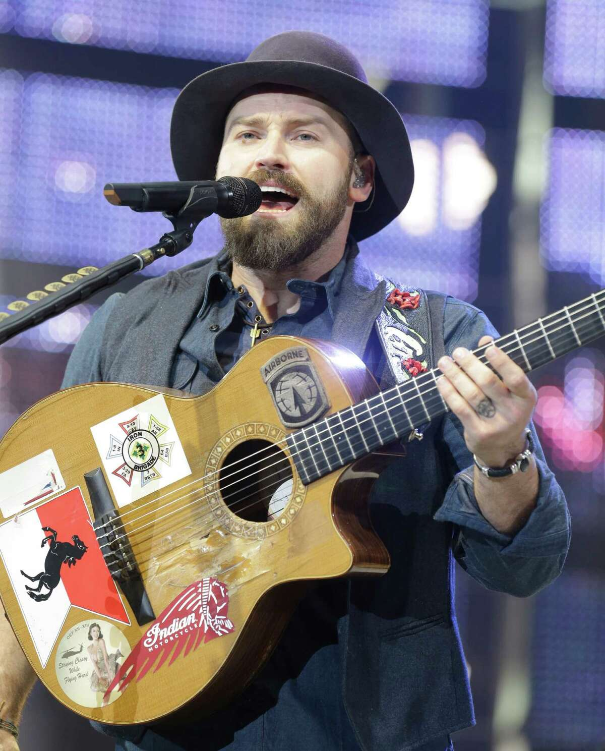 The Zac Brown Band performs at RodeoHouston on March 12, 2015.