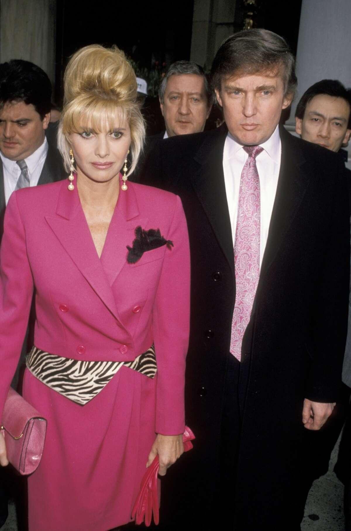 Donald Trump married Czech model Ivana Zelníčková in April 1977. The couple divorced in 1991 with Ivana obtaining an estimated $25 million settlement, including $14 million in cash.