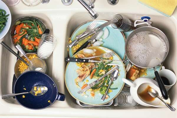 Leaving dirty dishes in the sink (especially goes for highly capable teenager or those living in a roommate situation)