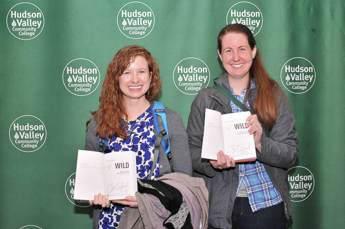 Were you Seen at the lecture and reading with Cheryl Strayed, author of 'A Wild Life,' which was adapted for the film, 'Wild,' at Hudson Valley Community College in Troy on Thursday, March 12, 2015?