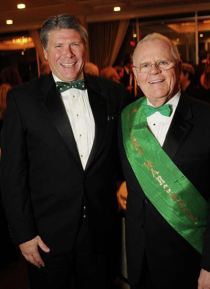 Honorees Michael Fleming, left, and Jim Foley Photo: Dave Rossman, Freelance / Freelalnce