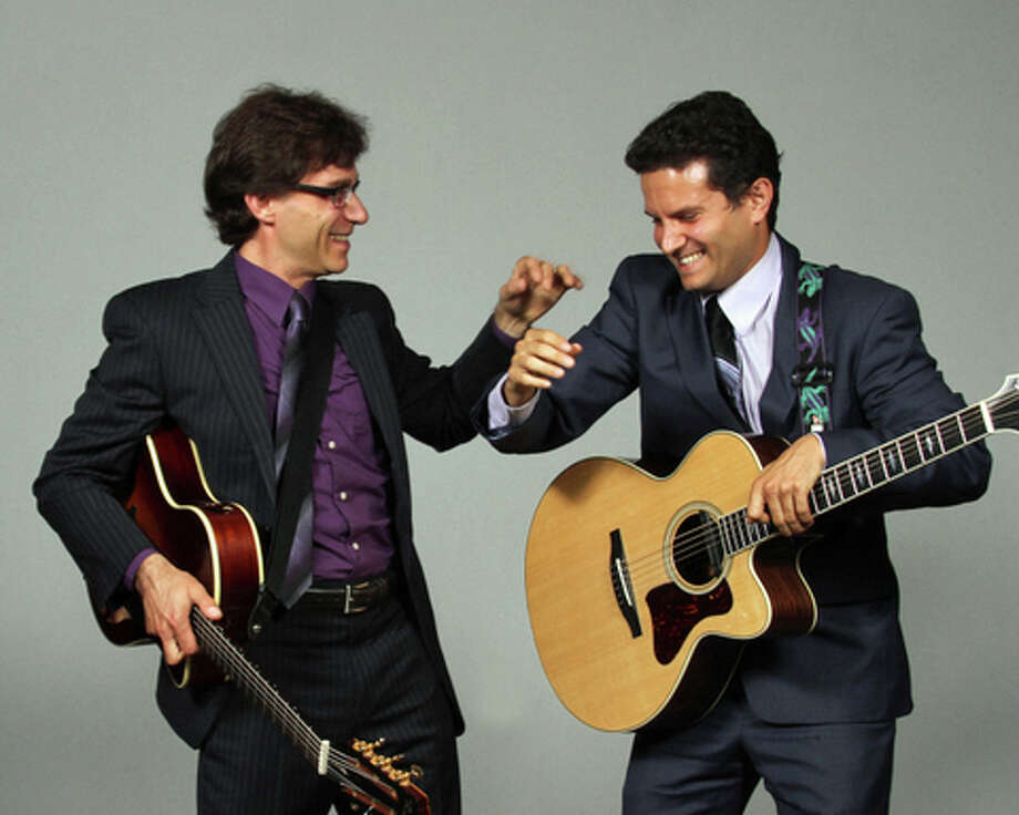 The guitar duo of Vignola and Raniolo will perform at 3:30 p.m. Sunday at Greenwich Library's Cole Auditorium. Free concert. For more information, contact David Waring at 203- 622-7917. Photo: Contributed Photo / Greenwich Time Contributed