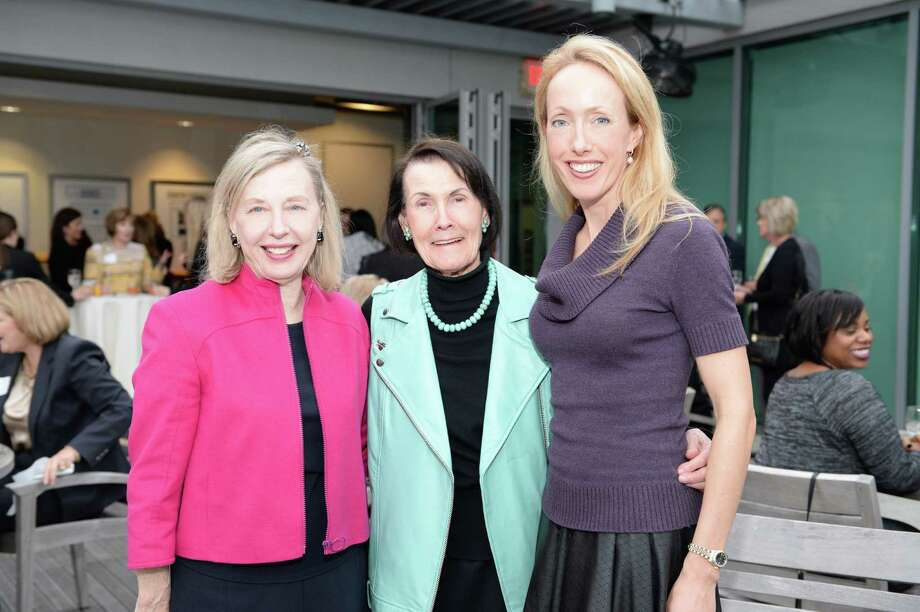 Attending the event were (left to right) Anne White, Joan Murphy and Rachel Rosson.