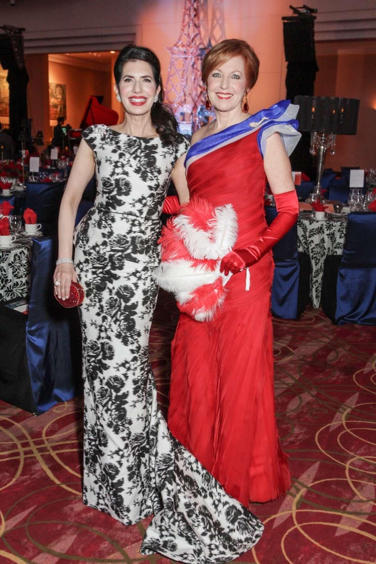 Kelli Cohen Fein and Nancy Strohmer