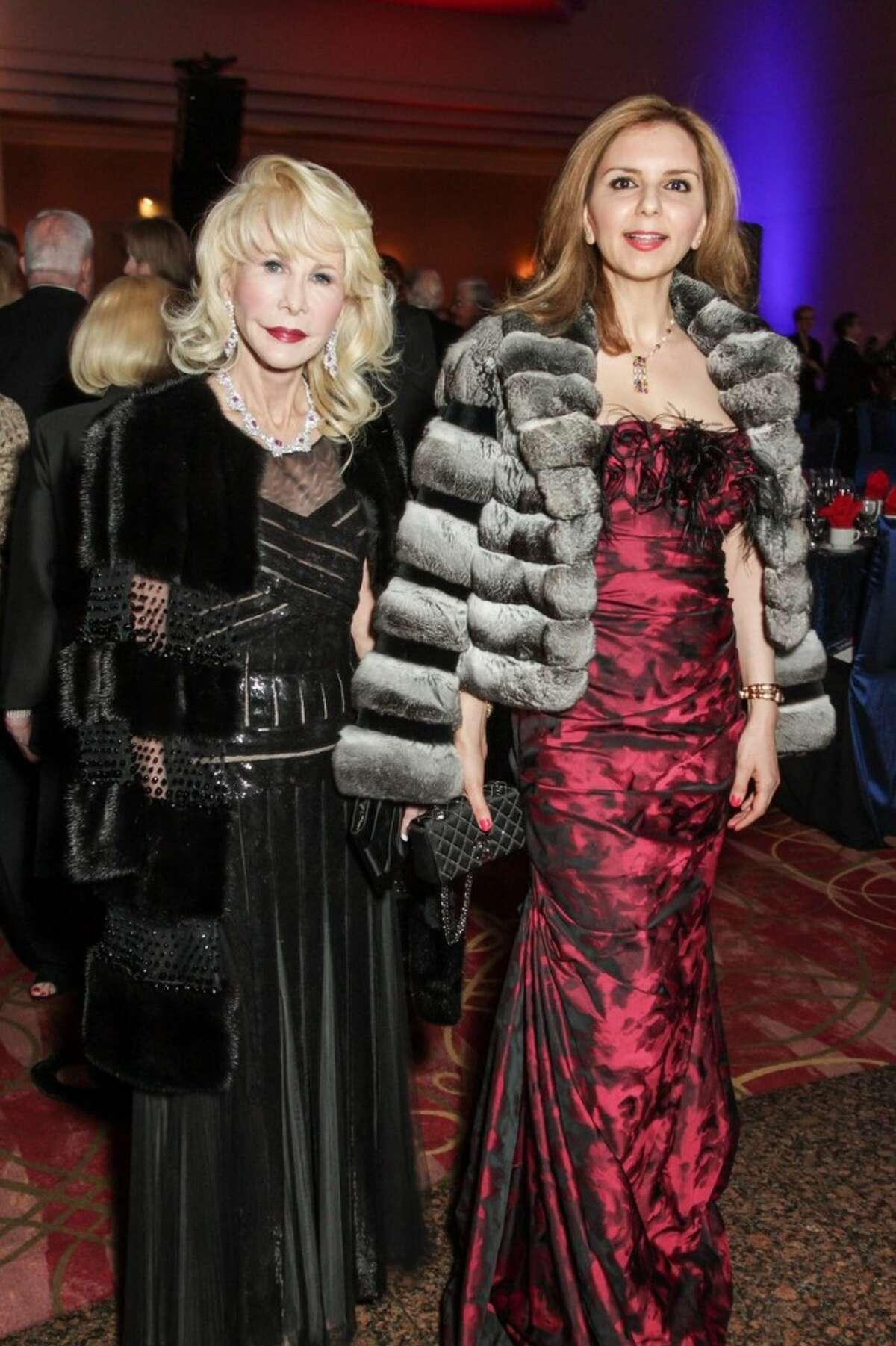 Diane Lokey Farb and Sallymoon Benz