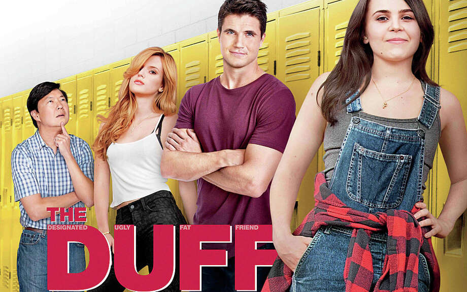 """The new teen comedy, """"The DUFF,"""" deals with a girl who's been tagged as the DUFF âÄî Designated Ugly Fat Friend âÄî by her so-called friends. Photo: Contributed Photo / Westport News"""
