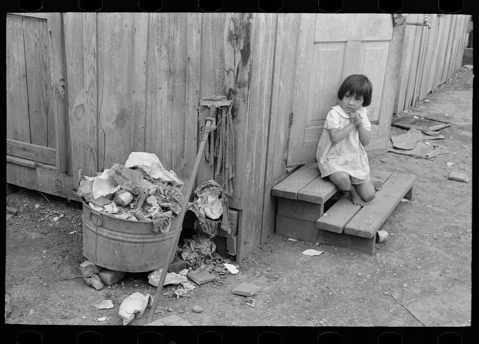 Historical photos archived by the U.S. Library of Congress show the harsh conditions San Antonio residents lived under during the Great Depression. Photographs taken by the U.S. Farm Security Administration among other federal agencies display how many citizens lived in squalor during one of the nation's darkest periods.