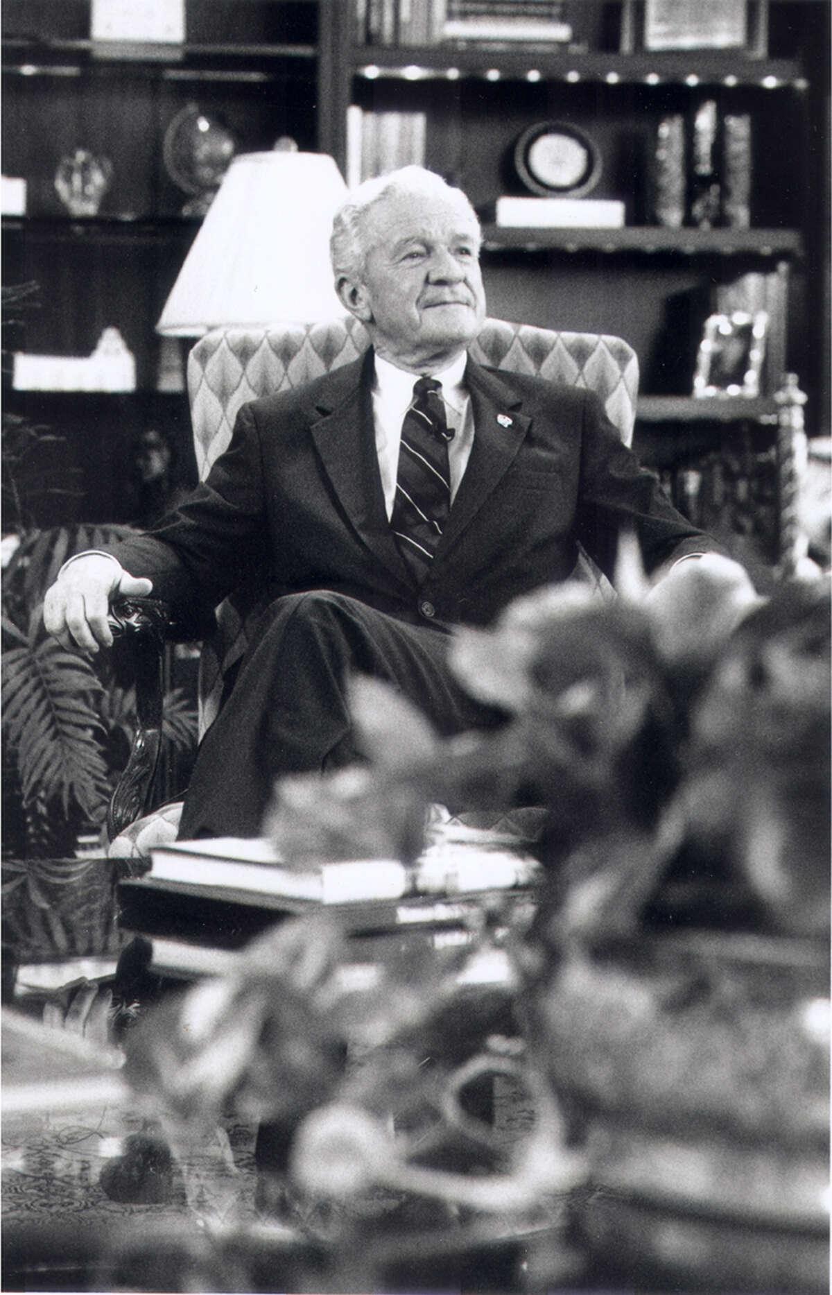 Brig. Gen. Robert F. McDermott, USAA president 1969-1993.