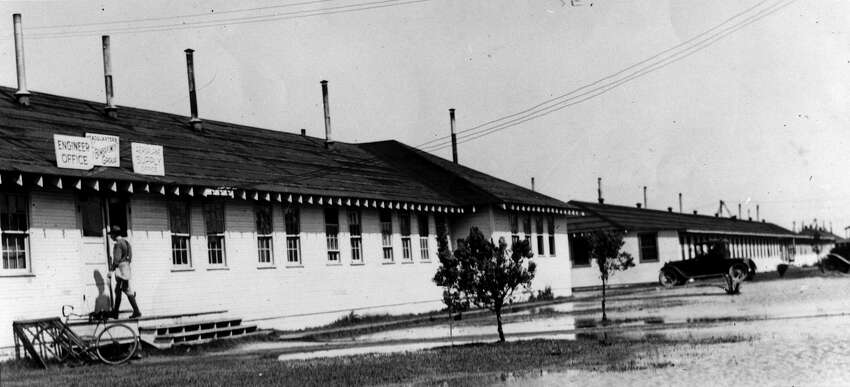 USAA's first office at Kelly Field.