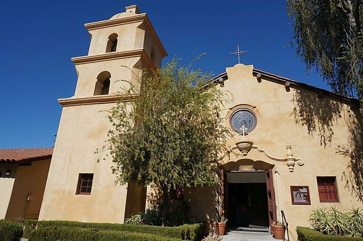 The old St. Thomas Aquinas Chapel, above, is now home to the Ojai Valley Museum.