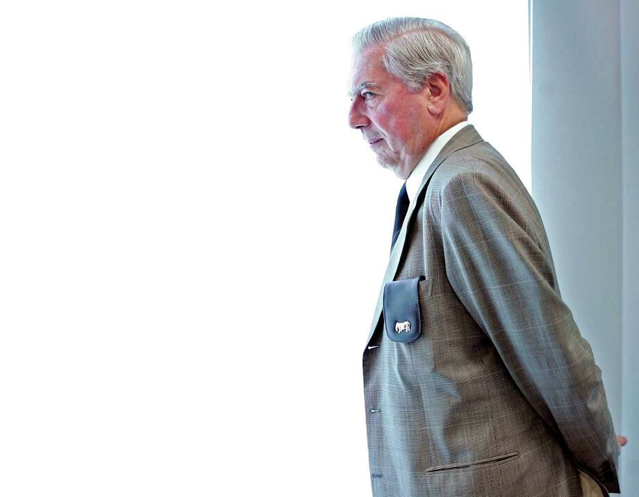The Peruvian writer Mario Vargas Llosa, winner of the Nobel Prize for Literature, will be in Houston from Oct. 29 to 31 to participate in the 2015 International Literature Festival organized by Casa Cultural de las Américas in this city. Photo: Daniel Ochoa De Olza, Associated Press / AP