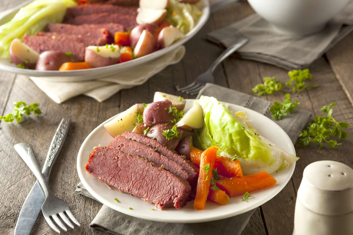 Top pick at most restaurants this St. Patrick's Day: Corned Beef and Cabbage. (Fotolia)
