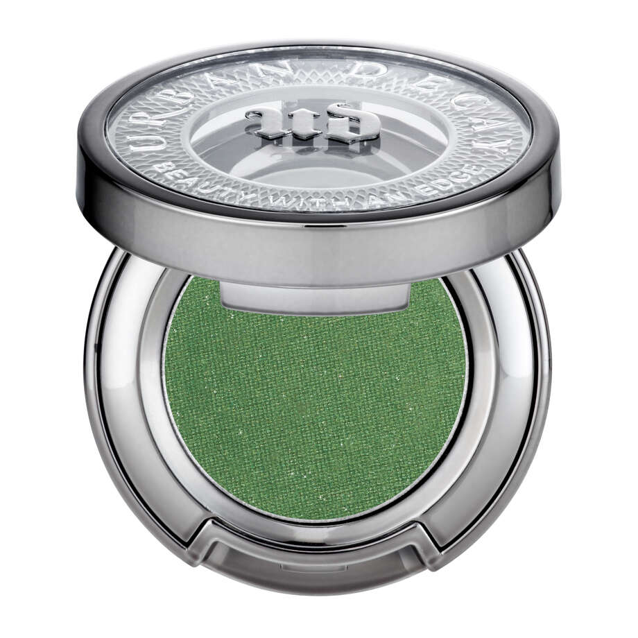 Urban Decay Eyeshadow in Kush provides a perfect swipe of vibrant green for St. Patrick's Day. Photo: Urban Decay / Urban Decay