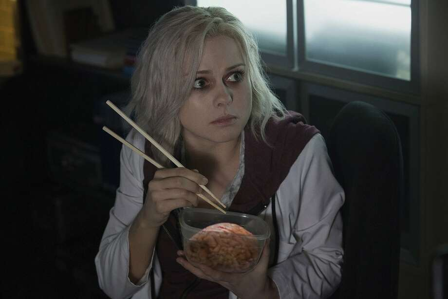 "iZombie -- ""Pilot"" -- Image ZMB100E_0053 -- Pictured: Rose McIver as Liv - Photo: Cate Cameron/The CW -- © 2014 The CW Network, LLC. All rights reserved. Photo: Cate Cameron, Cate Cameron/The CW"