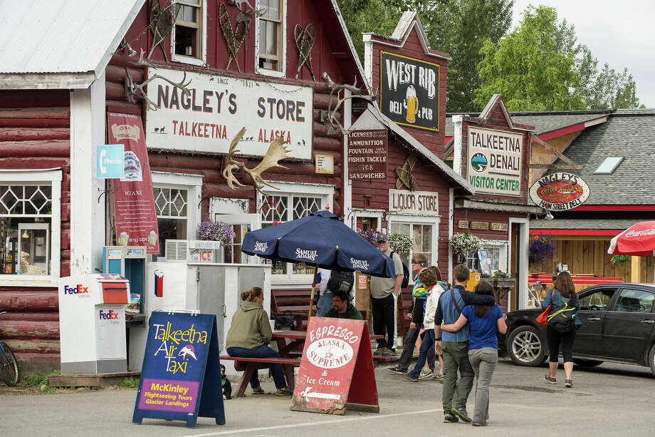Nagley's Store is the headquarters for Stubbs, the town's feline mayor for the past 17 years. Photo: Tom Bol Photography / Alaska Tourism / ONLINE_CHECK