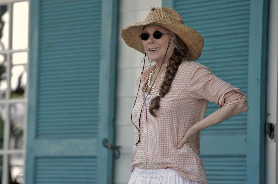"""Sissy Spacek is Sally Rayburn (to Sam Shepard's Robert Rayburn) in Netflix's """"Bloodline,"""" about an inn-owning Key West couple who have a lot of skeletons in the family closet. Photo: Merrick Morton, Netflix"""