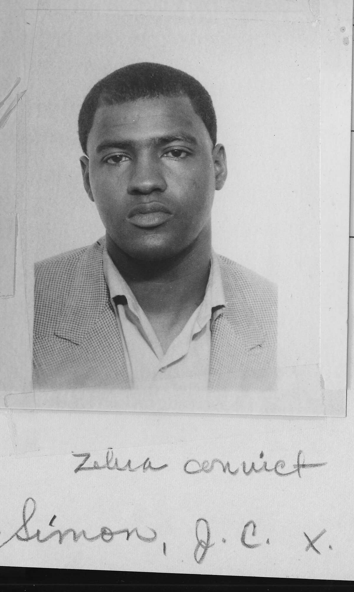 """J.C.X. Simon was one of four notorious """"Zebra killers"""" convicted of 14 slayings."""