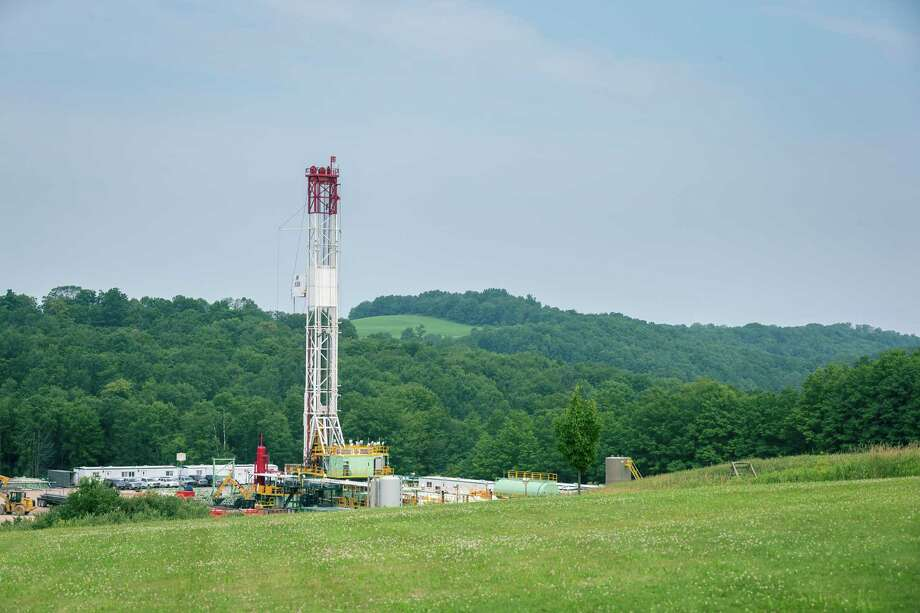 In January investors bought $2.3 billion in stock of  Houston-based Southwestern Energy Co., which operates this well site in Pennsylvania. (Southwestern Energy photo) Photo: Southwestern Energy Co.