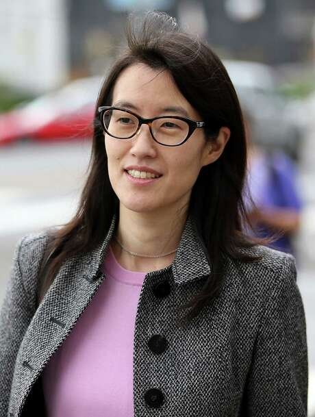 SAN FRANCISCO, CA - MARCH 11:  Ellen Pao leaves the Superior Court Civic Center Courthouse during a lunch break from her trial on March 11, 2015 in San Francisco, California. Pao, the interim CEO of Reddit, is suing her former employer, Silicon Valley venture capital firm Kleiner Perkins Caulfield and Byers, for $16 million alleging she was sexually harassed by male officials.  (Photo by Justin Sullivan/Getty Images) Photo: Justin Sullivan, Staff / 2015 Getty Images