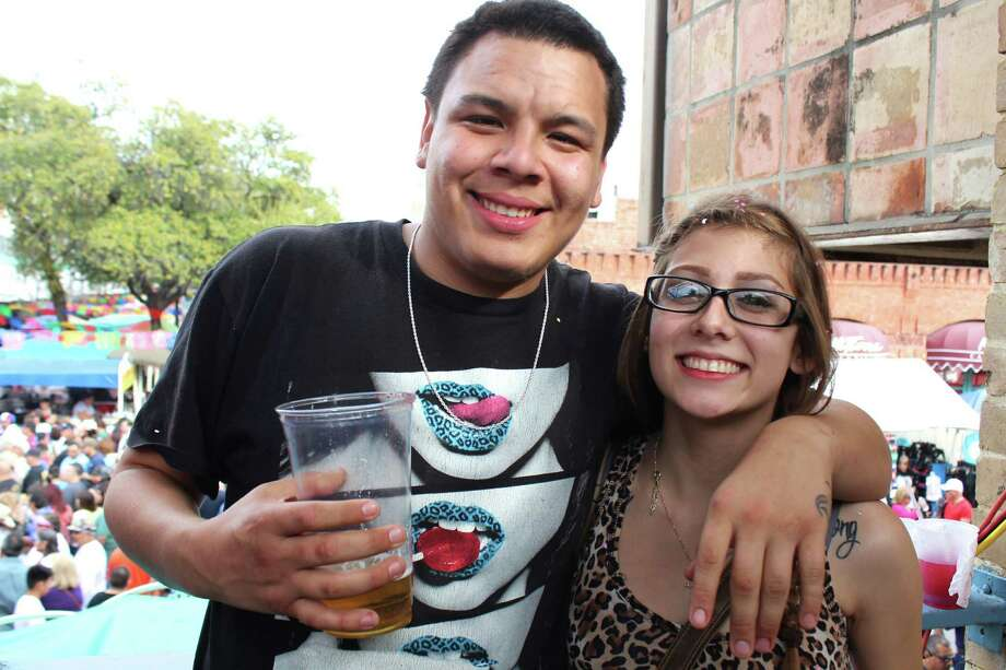 Music fans flock to the 2015 Tejano Music Awards Fan Fair at Market Square on Friday, March 13, 2015. Photo: Yvonne Zamora