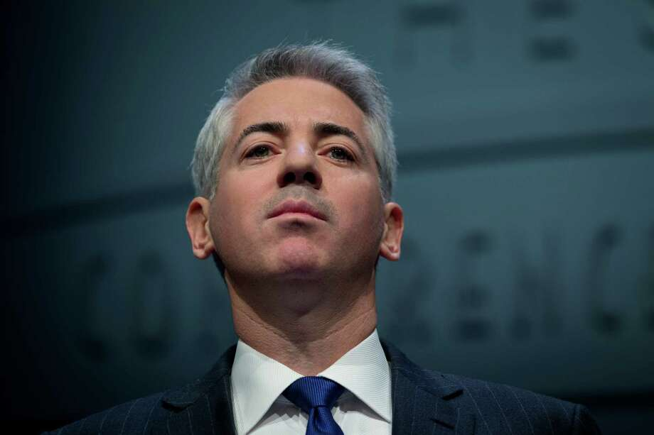 "William ""Bill"" Ackman, founder and chief executive officer of Pershing Square Capital Management LP, speaks during a presentation in New York, U.S., on Thursday, Dec. 20, 2012. Ackman resigned from J.C. Penney Co.'s board after a public fight with his fellow directors, capping more than two years of agitating to remake the retailer that left him with a potential $700 million in losses on his stake in the department-store chain. Photographer: Scott Eells/Bloomberg Photo: Scott Eells / © 2013 Bloomberg Finance LP"